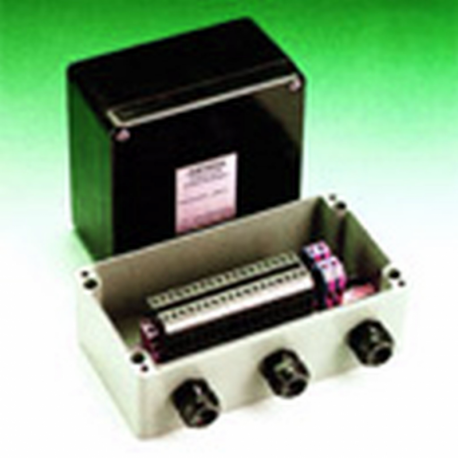 Obudowa uniwersalna pełna 75 x 80 x 57 , Aluminiowa, szary, IP66, ZAG EX 5 K