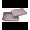 Obudowa uniwersalna pełna - 220 x 120 x 80 , Aluminiowa, szary, IP66, ZAG 10