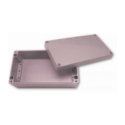 Obudowa uniwersalna pełna - 260 x 160 x 90 , Aluminiowa, szary, IP66, ZAG 12