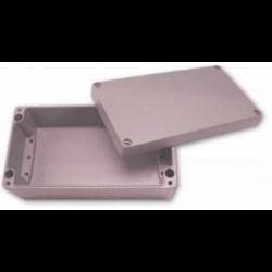 Obudowa uniwersalna pełna - 400 x 230 x 110 , Aluminiowa, szary, IP66, ZAG 18