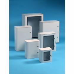 Szafka poliestrowa Pedro wzmocniona włóknem szklanym, drzwi pełne 1060x810x355 mm, IP65, VTR07