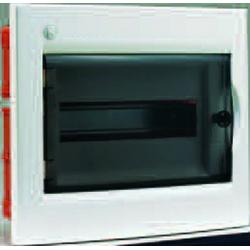 Rozdzielnica elektryczna modułowa 12 (1x12m) 333 x 275 x 108 Poliester Czarny IP 40 Podtynkowa