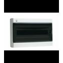 Rozdzielnica elektryczna modułowa 18 (1x18m) 408 x 275 x 137 Poliester Biały RAL 9001 IP 40 Natynkowa