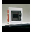 Rozdzielnica elektryczna modułowa 4 (1x4m) 169 x 180 x 99 Poliester Biały RAL 9016 IP 40 Podtynkowa