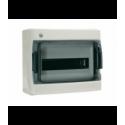 Rozdzielnica elektryczna modułowa 8 (1x8m) 210 x 200 x 101 Poliester Biały RAL 9001 IP 40 Natynkowa