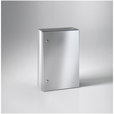 Szafka ECOR IP66 IK10 z płytą montażową - 600 x 600 x 250