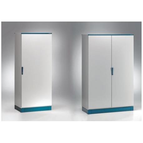 Szafa monoblok EMOX z płytą montażową – 800 x 1800 x 400
