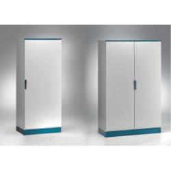 Szafa monoblok EMOX z płytą montażową – 800 x 1600 x 400