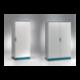Szafa monoblok EMOX z płytą montażową – 600 x 1800 x 400
