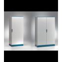 Szafa monoblok EMOX z płytą montażową – 1000 x 2000 x 500