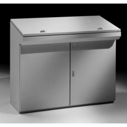 Pulpit monoblok typu konsola W-1000 - 1000 x 1000 x 400