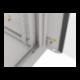 """Szafa Instalacyjna Rack Wisząca 19 18u 570x450 Szybki Montaż Szara Lanberg (FLAT Pack)"""""""