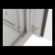 """Szafa Instalacyjna Rack Wisząca 19"""" 12u 570x450 Szybki Montaż Szara Lanberg (FLAT Pack)"""