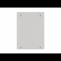 """Szafa Instalacyjna Rack Wisząca 19"""" 15u 570x600 Szybki Montaż Szara Lanberg (FLAT Pack)"""