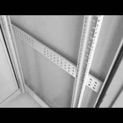 """Szafa Instalacyjna Rack Stojąca 19"""" 37u 600x1000 Ip55 Szara Lanberg (ZŁOŻONA)"""