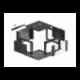 "Szafa Instalacyjna Rack Wisząca 19"" 6u 570x600 Szybki Montaż Czarna Lanberg (FLAT Pack)"