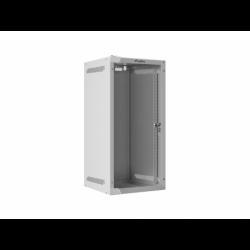 """Szafa Instalacyjna Rack Wisząca 10"""" 12u 280x310 Szara Lanberg (FLAT Pack)"""