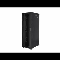 """Szafa Instalacyjna Rack Stojąca 19"""" 42u 800x1200 Czarna Lanberg (FLAT Pack)"""