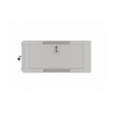 """Szafa Instalacyjna Rack Wisząca 19"""" 4u 570x600 Szybki Montaż Szara Lanberg (FLAT Pack)"""