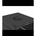 "Szafa Instalacyjna Rack Wisząca 10"" 6u 280x310 Czarna Lanberg (FLAT Pack)"