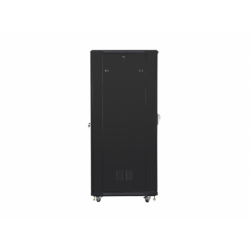 """Szafa Instalacyjna Rack Stojąca 19"""" 47u 800x800 Czarna Lanberg (FLAT Pack)"""