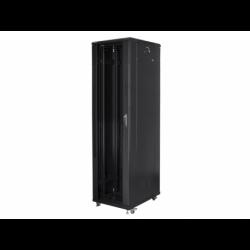 """Szafa Instalacyjna Rack Stojąca 19"""" 37u 800x800 Czarna Lanberg (FLAT Pack)"""
