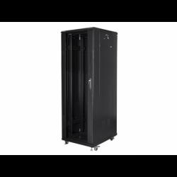 """Szafa Instalacyjna Rack Stojąca 19"""" 37u 600x800 Czarna Lanberg (FLAT Pack)"""