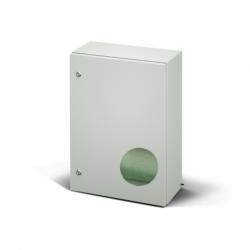 Szafka stalowa ETA EC IP66 z płytą montażową EC040420.E - 400 x 400 x 200. Wykonanie EMC.