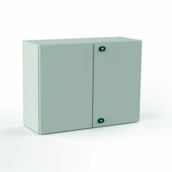 Szafka stalowa ETA EC IP66 z płytą montażową EC121030 - 1200 x 1000 x 300. Drzwi dwuskrzydłowe.