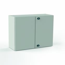 Szafka stalowa ETA EC IP66 z płytą montażową EC101230 - 1000 x 1200 x 300. Drzwi dwuskrzydłowe.