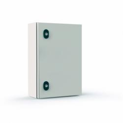 Szafka stalowa ETA EC IP66 z płytą montażową EC060620 - 600 x 600 x 200.