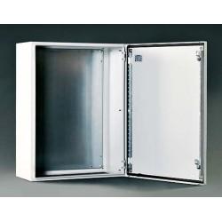 Szafka stalowa ETA IP66 z płytą montażową – 400 x 600 x 400