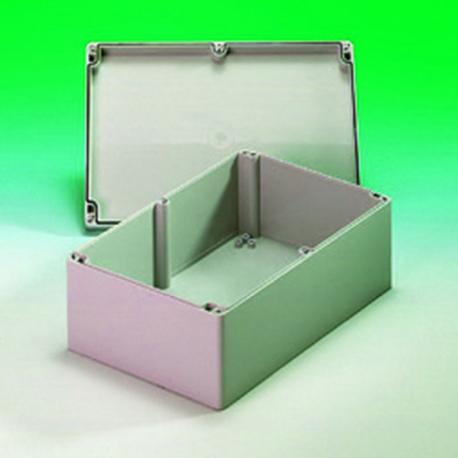 Obudowa uniwersalna pełna, – 300 x 230 x 85 , ABS, jasnoszary, ZPS 17
